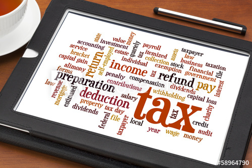 Filing taxes and reducing your taxable income.